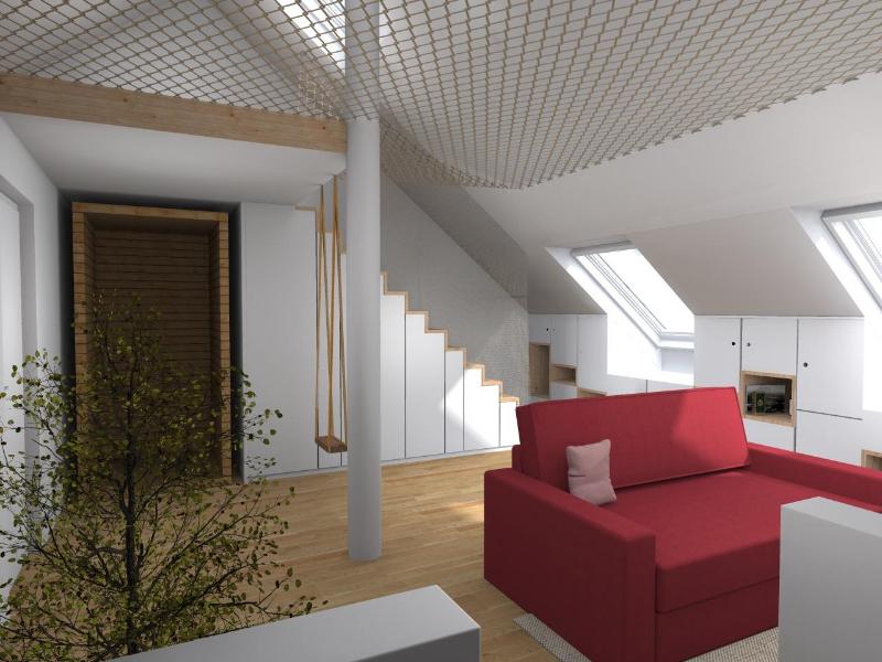 combles-sauna-sous-escalier